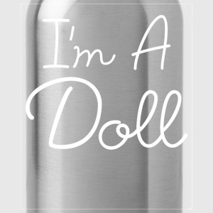 I'm a Doll Fashionista Swag Stylish Girl Power Tee T-Shirts - Water Bottle