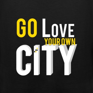 Go love your own city - Men's Premium Tank