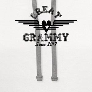 Great Grammy Since 2017 T-Shirts - Contrast Hoodie
