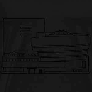 Guggenheim Museum New York - Men's Premium T-Shirt