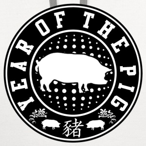 YEAR OF THE PIG - Contrast Hoodie