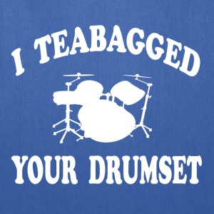 Step Brothers - I Teabagged Your Drumset T-Shirts - Tote Bag