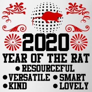 2020,happy new year,new year,rat,YEAR OF THE RAT - Coffee/Tea Mug