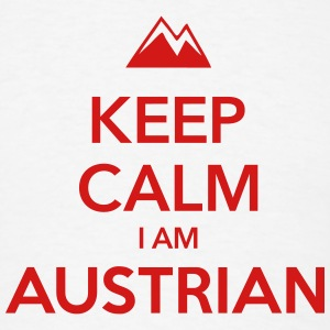 KEEP CALM I AM AUSTRIAN - Men's T-Shirt