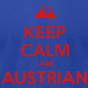 KEEP CALM I AM AUSTRIAN - Men's T-Shirt by American Apparel