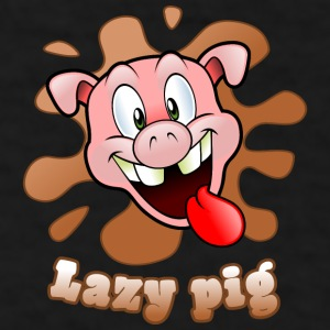 lazy pig Mugs & Drinkware - Men's T-Shirt