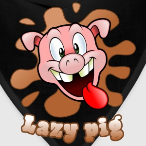 lazy pig Mugs & Drinkware - Bandana