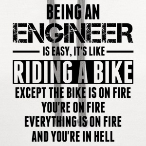 Being An Engineer... T-Shirts - Contrast Hoodie