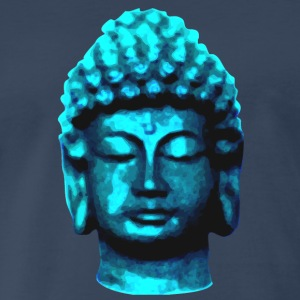 buddha head blue Sportswear - Men's Premium T-Shirt