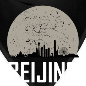 Beijing Full Moon Skyline - Bandana