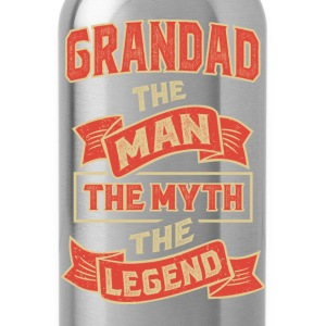 Grandad The Myth T-shirts Gifts - Water Bottle