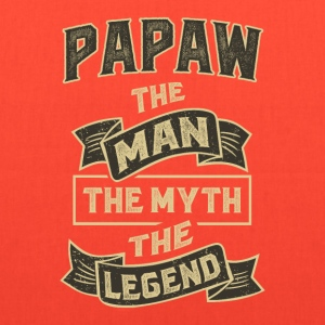 Papaw The Myth T-shirts Gifts - Tote Bag