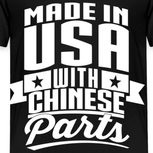American Chinese Kids' Shirts - Toddler Premium T-Shirt