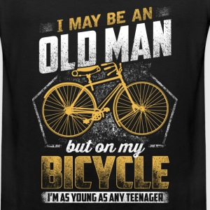 Bicycle - On my bicycle I'm as young as any teen - Men's Premium Tank