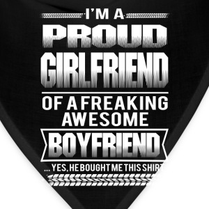 Girl friend - I'm a girl friend of an awesome boy - Bandana