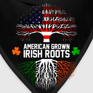 Irish - American grown with Irish roots t-shirt - Bandana