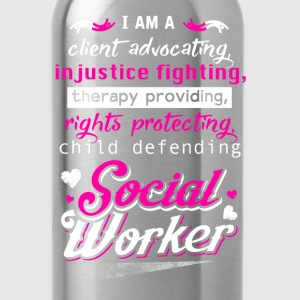 Social worker - I'm a therapy providing t-shirt - Water Bottle