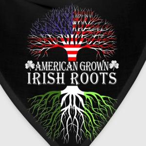 Irish - American grown Irish roots t-shirt - Bandana