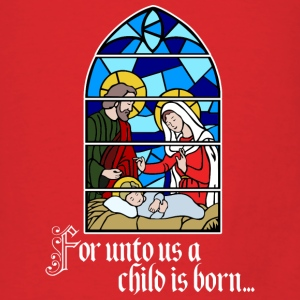 For unto us a Child is born Bags & backpacks - Men's T-Shirt