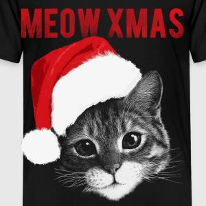 cute cat meow xmas - Toddler Premium T-Shirt