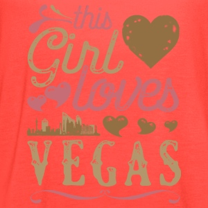 This Girl Loves Vegas - Las Vegas Gift T-Shirts - Women's Flowy Tank Top by Bella
