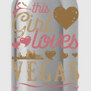 This Girl Loves Vegas - Las Vegas Gift T-Shirts - Water Bottle