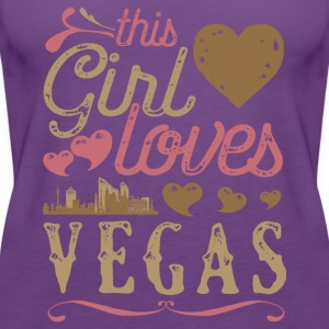 This Girl Loves Vegas - Las Vegas Gift T-Shirts - Women's Premium Tank Top