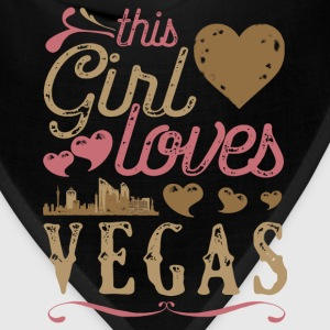 This Girl Loves Vegas - Las Vegas Gift T-Shirts - Bandana