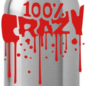 Blood graffiti drop color 100 hundred percent comi T-Shirts - Water Bottle