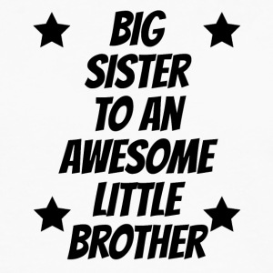 Big Sister To An Awesome Little Brother - Men's Premium Long Sleeve T-Shirt