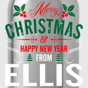 mery_christmas_happy_new_year_from_ellis T-Shirts - Water Bottle