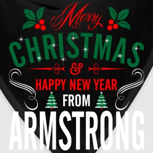 mery_christmas_happy_new_year_from_armst T-Shirts - Bandana