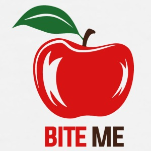 BITE ME apple Accessories - Men's Premium T-Shirt