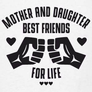 Mother and Daughter best friends for life Aprons - Men's T-Shirt