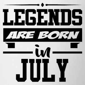 LEGENDS ARE BORN IN JULY,LEGENDS, ARE BORN ,IN JUL - Coffee/Tea Mug