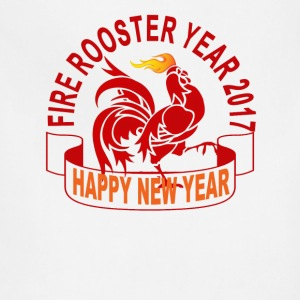 fire_rooster_year_2017_ - Adjustable Apron