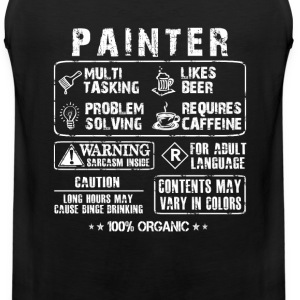 Painter - Multi tasking painter awesome t-shirt - Men's Premium Tank