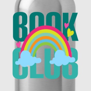 Book lover - Book club rainbow T-shirt - Water Bottle