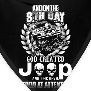God created jeep - The devil stood at attention - Bandana