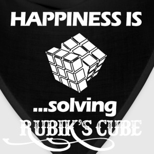Happiness is solving Rubik's cube - Bandana