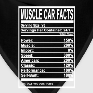 Muscle car facts - Speed, Muscle, American - Bandana