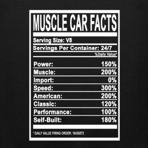 Muscle car facts - Speed, Muscle, American - Men's Premium Tank
