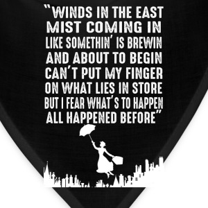 Mary Poppins - Winds in the East mist coming in - Bandana