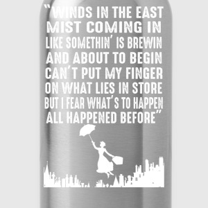 Mary Poppins - Winds in the East mist coming in - Water Bottle