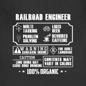 Railroad engineer - Contents may vary in colors - Adjustable Apron