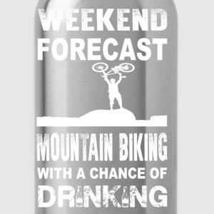 Weekend mountain biking - With chance of drinking - Water Bottle