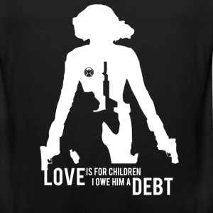 Black widow - Love is for children awesome tee - Men's Premium Tank