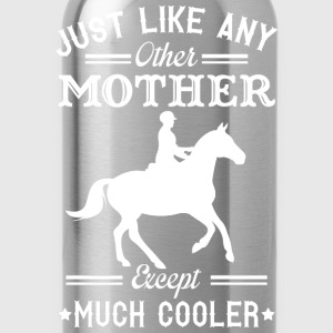 Horse riding mom - Like others except much cooler - Water Bottle