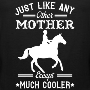 Horse riding mom - Like others except much cooler - Men's Premium Tank