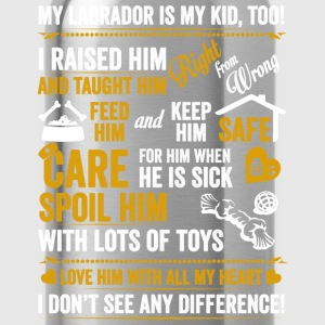 Labrador - My labrador is my kid too t-shirt - Water Bottle